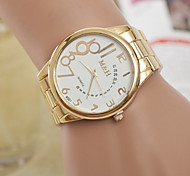 Women's Watch Women's Swiss Quartz Alloy Watch Individual Digital Gold Belt Watch Cool Watches Unique Watches