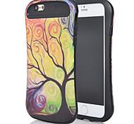 a nova combinação para iphone6plus óleo leve design da vara cintura pequena árvore óleo de shell telefone móvel