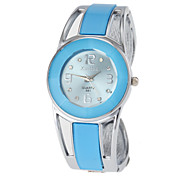 Women's Watch Bracelet Watch Blue Round Dial