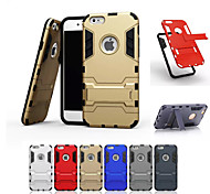 Ultrathin Hard Case Protective Cover with Kickstand for iphone 6 (Assorted Colors)
