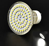 JMT-GU10 4W 400lm 6000K 60x3528SMD LED White Dimming Light Corn Bulb (AC85-265V)