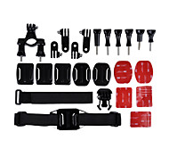 Accessori Kit 6-in-1 per GoPro eroe 4/3 + / 3/2/1 / sj4000 / sj5000 / sj6000