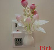 Tulip Dream Led Night Light Wall Lamp Light Control Sensor