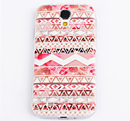 Pink Flower Pattern TPU for Samsung S4 I9500