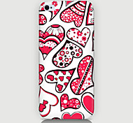 Love of Design and Color Pattern Phone Case Back Cover Case for iPhone5C