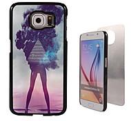 het meisje ontwerp aluminium koffer voor Samsung Galaxy s6