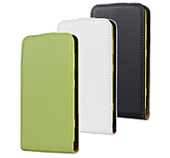 For Nokia Case Flip Case Full Body Case Solid Color Hard PU Leather Nokia Nokia Lumia 625