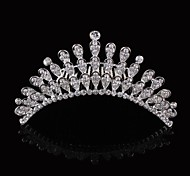 Alloy Hand-made Flowers with Rhinestone and Crystal Wedding Bridal Headpieces For Flower Girls