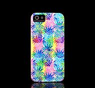 ananas motif couverture rigide pour iPhone 5 cas pour iphone 5 s