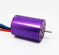 XTI-3650 2700KV 4Poles Brushless Motor for 1/10 car & 400-600mm Boat,Purple