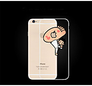 The New Silicone  Mobile Phone Sets Shell Ultra Thin Transparent Soft Shell Crowds 4.7inch
