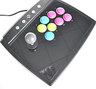 PS2 /PS3 /PC USB 2 in 1 Universal Arcade Fighting Stick(Big Size)