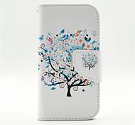 цветные деревья шаблон внутри окрашены карты случай для Samsung Galaxy j1