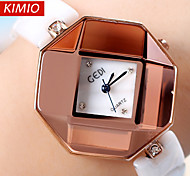 GEDI®Diamond cutting surface Genuine Ceramic Watches Luxury Brand Fashion Rose Gold Watch Analoy Quartz Wristwatches