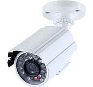 HD 1000TVL 24 IR-LEDs CCTV Camera Home Security Day Night Waterproof 20M IR night Vision bullet Camera white IP66