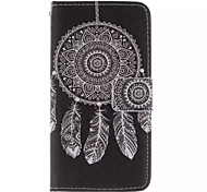 Printed Inside And Outside Wind Chimes Pattern PU Leather Case with Stand for Samsung Galaxy S5 MINI