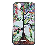 cor caixa do telefone árvores material padrão pc para Wiko birdy