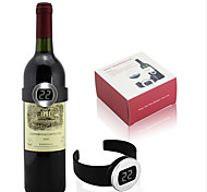 Celsius Digital Electric Red Wine Bottle Watch Thermometer Temperature Meter
