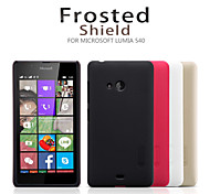 For Nokia Case Frosted Case Back Cover Case Solid Color Hard PC Nokia Nokia Lumia 540