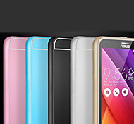 Metal Frame Acrylic Mirror Backplane Metal Hard Case for Asus Zenfone 2 ZE550ML ZE551ML  (Assorted Colors)