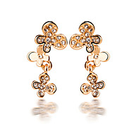 HUALUO®Korean Version of the New Diamond Butterfly Earrings