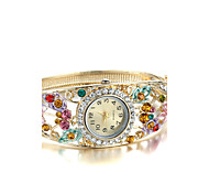 Sjewelry Lady Elegant Golden Retro Bracelet Watch