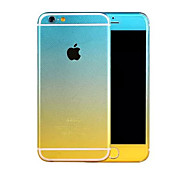 Full Body Side+Top+Back+Button Fading Color Skin Sticker for iPhone 6 Plus(Assorted Colors)