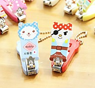 Lovely Animals Pattern Nail Clipper Random Color