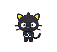 Cartoon New Black Cute Cat USB 2.0 Memory Flash Stick Pen Drive 2GB