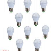 Lampadine globo LED 10 SMD 2835 HRY G45 E26/E27 3W Decorativo 250 LM Bianco caldo / Luce fredda 10 pezzi AC 85-265 / AC 220-240 V