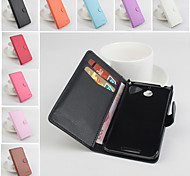 Protective PU Leather Magnetic Vertical Flip Case for HTC Desire 510(Assorted Colors)