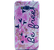 Pink Flower Free Pattern PC Hard Case for Samsung Galaxy Grand Prime G530 G530H G5308W Back Cover