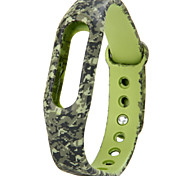 Replaceable TPU Band for Xiaomi Smart Watch Bracelet Military Pattern