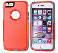 Soft Luxury PC+TPU Dual Layer Cool Case Crocodile Leather Skin Shockproof Slim Case for iPhone 6 (Assorted Color)
