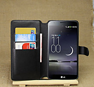 LG G Flex Plastic / PU Leather Full Body Cases / Cases with Stand Graphic / Special Design case cover