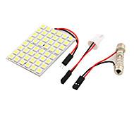 youoklight® 1шт T10 / гирлянда 9w 500lm 48 х SMD5050 LED белый свет автомобиля свет чтения / свет панели - (12)