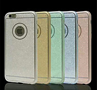 Multicolor Glitter TPU Phone Caser for iPhone 6 (Assorted Colors)