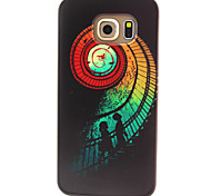 Ladder Pattern TPU Painted Soft Back Cover for GALAXY S6/S6 edge S5/S5Mini S4/S4Mini S3/S3Mini
