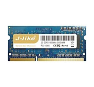j-like® 1600MHz chip de memória RAM do computador 2gb para laptop