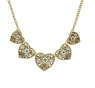 Fashion Women Vintage Heart Pendant Necklace