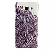 Wings Of An Angel Pattern TPU Soft Cover for Samsung Galaxy A8/A7/A5/A3