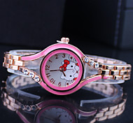 Children's Hello Kitty Dial Fashion Bracelet Watch