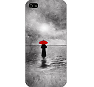 Walking In The Rain Pattern Phone Back Case Cover for iPhone5C