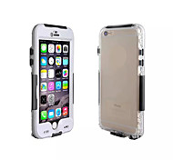 Waterproof Shockproof Dirt Snow proof  Case Cover Transparent Shell For Apple iPhone 6(Assorted Colors)