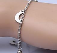 Charmes pour Bracelets 1pc,Argent Bracelet Acier inoxydable Bijoux Femme / Hommes