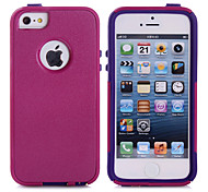 Soft Luxury PC+TPU Dual Layer Cool Case Crocodile Leather Skin Shockproof Slim Case for iPhone 5/5S (Assorted Color)