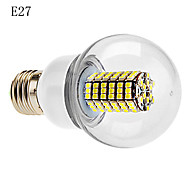 Lampadine globo 120 SMD 3528 G E14/B22/E26/E27 7 W 630 LM Bianco caldo/Luce fredda AC 220-240 V