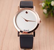 Les montres pour femmes en or rose édition montre d'affaires cadran de sangle