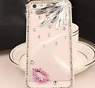 Diamant-rote Lippen Grenze stark Argument für iphone4 / 4s