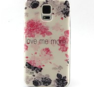 Rose Pattern Soft Case for Sumsang Galaxy S5Mini/S5/S4/S3/S3mini/S4mini/S6/S6edge